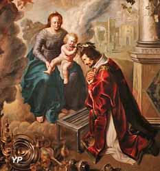Saint Laurent couronné par l'Enfant Jésus (Claude de Jongh, 1634)