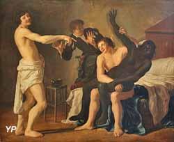 Scène de moeurs, dit, le Rapt de la Négresse (Christian van Couwenberg, 1632)