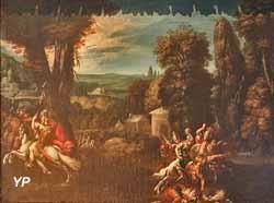 La Guerre des Amazones (Claude Deruet)