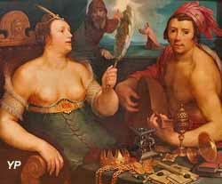 Allégorie sur la Vanité et le Repentir (Cornelis van Haarlem, 1616)