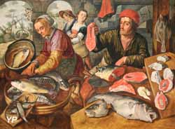 LeJoachim  Marché aux poissons (Joachim Beuckelaer, 1568)
