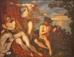 Bacchus, Ariane et Vénus (Domenico Tintoret)