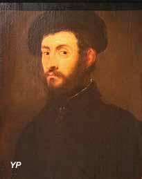 Portrait d'homme en buste (Jacopo Robusti, dit Le Tintoret)