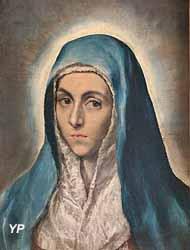 Portrait de la Vierge, autrefois appelé Mater Dolorosa (Domenikos Theotokopoulos, dit Le Greco)