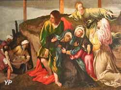 L'Evanouissement de la Vierge pendant le transport du Christ (Lorenzo Lotto)