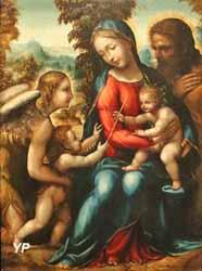 La Sainte Famille avec saint Jean-Baptiste et un ange (Giovan Antonio Bazzi, dit Le Sodoma)