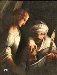 Judith et sa servante avec la tête d'Holopherne (Antonio Allegri, dit Le Correge)