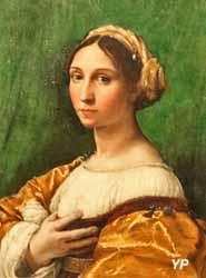 Portrait de jeune femme (Raffaello Santi, dit Raphaël et Giulio Pippi, dit Giulio Romano)