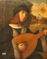 Portrait d'un joueur de luth (Giovanni Busi, dit Cariani)