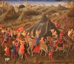 le Cortège des Rois Mages (Zanobi Strozzi)