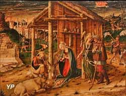 L'Adoration des bergers (Carlo Crivelli)
