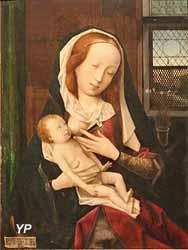 la Vierge allaitant (Jan Provost)