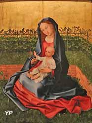 la Vierge au jardinet (Maître de la Légende de sainte Madeleine)