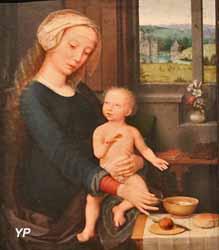 La Vierge à la soupe au lait (Gérard David)