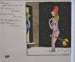Marianne ayant chanté tout l'été (Tomi Ungerer, 1989)