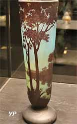 Collection Daum - vase Paysage