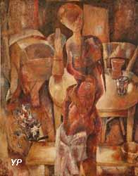 Chambre des enfants (Jean Bazaine, 1937)