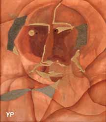 Tête d'homme à la cravate (Etienne Cournault)