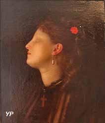 Femme à la perle (Charles-Auguste Sellier)