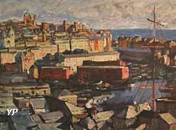 Port de Gênes (Georges Dufrénoy, 1914)
