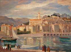 Menton, le port avant 1937 (Edmond Sigrist)