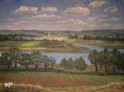 Vannes vue de Langles (Jean Frélaut, 1922)