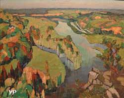 Moselle à Liverdun (Victor Guillaume, 1922)