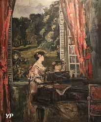 Femmes au piano (Pierre Laprade)