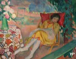 Femme lisant (Henri Lebasque)
