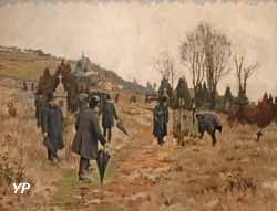 Après l'enterrement (Camille Martin, 1889)