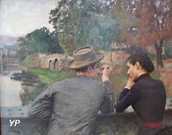 Les Amoureux (Émile Friant, 1888)