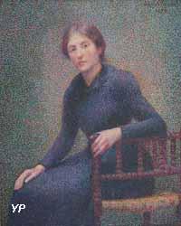 Jeune femme assise (Hippolyte Petitjean, 1892)