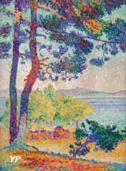 Après-midi à Pardigon (Henri-Edmond Cross, 1907)