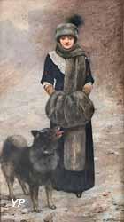 Portrait de Colette Gervex (Henri Gervex, 1910)