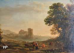 Bataille près d'une forteresse (Claude Gellée, dit le Lorrain)