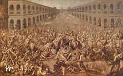 L'Enlèvement des Sabines (Claude Deruet)
