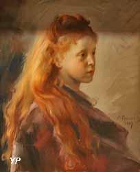 Jeune fille aux cheveux roux (Victor Prouvé, 1887)
