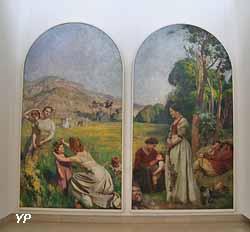 Les Jours heureux (Émile Friant, 1895)