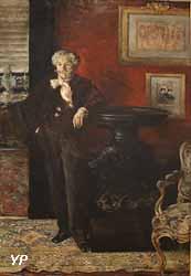 Portrait d'Edmond de Goncourt (Jean-François Raffaëlli, 1888)