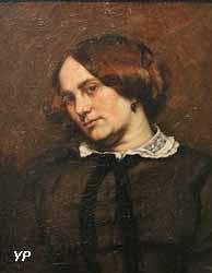 Portrait de Zélie Courbet (Gustave Courbet, 1853)