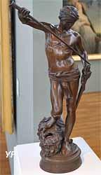David vainqueur de Goliath (Antonin Mercié)