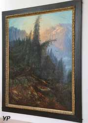 Paysage de montagne (Gustave Doré)