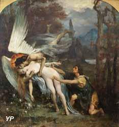 Jeune fille et la Mort (Henri-Léopold Lévy, 1900)