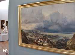 Vue de la ville et du port de Dieppe (Eugène Isabey, 1842)