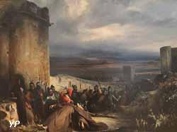 Episode du siège de Metz (Charles-Laurent Maréchal, 1835)