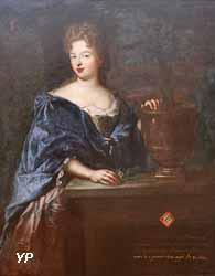 Portrait d'Élisabeth-Charlotte de Bavière (Nicolas de Largillière)