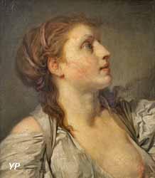 Tête de jeune fille (Jean-Baptiste Greuze)