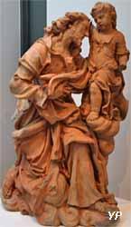 Saint Joseph et l'Enfant Jésus (Nicolas-Sébastien Adam)