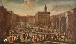 Place du Palais ducal à Florance (Gherardo Poli)