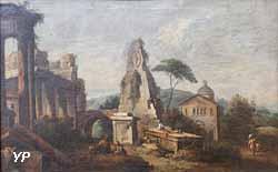 Ruine avec pyramide (Giuseppe Zais)